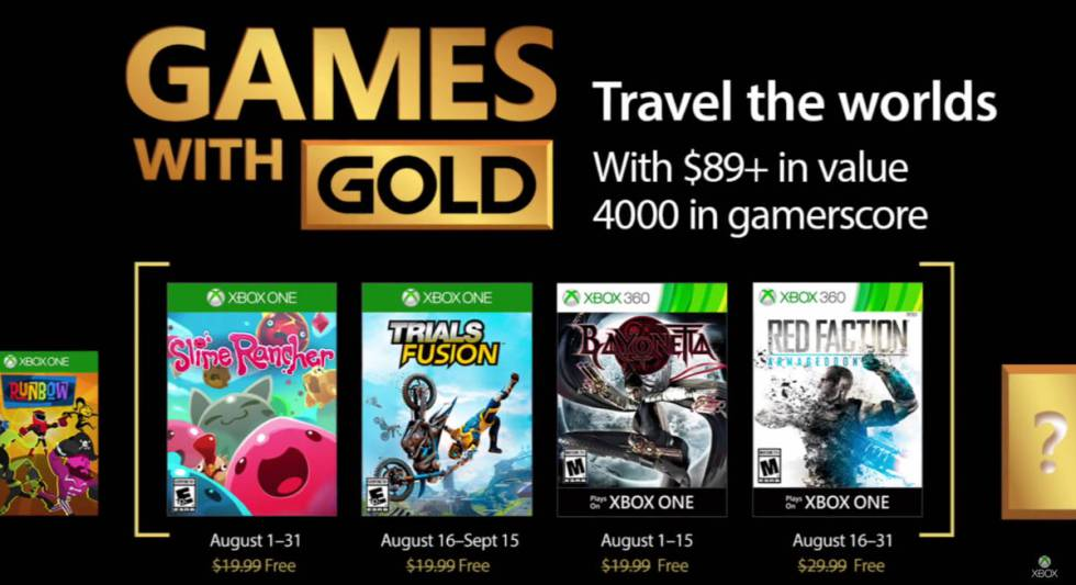 Imagenes De Juegos Gratis Xbox One Sin Gold 2017